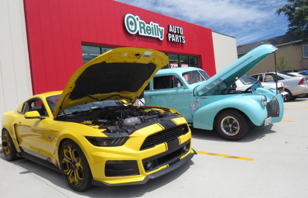 OReilly Auto Parts Remote WSIG - O reilly car show
